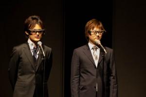 司会ははこだて未来大の竹川先生と立命館大の村尾先生