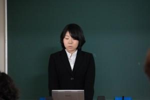 トップバッターで一番緊張していた石田さん