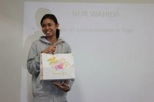 女性人気を集めたWahidaさん 客人賞受賞