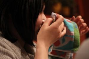 もらい泣きで号泣する石田さん