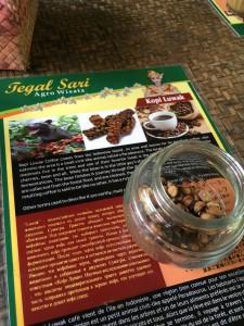 世界一高価といわれるコーヒー.ネコちゃんから作られるコーヒーです,詳細はここで説明できません...