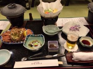 2日目には蟹料理も!!