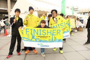 OBの奥川くんも走り,福本さんが応援に来てくれました.