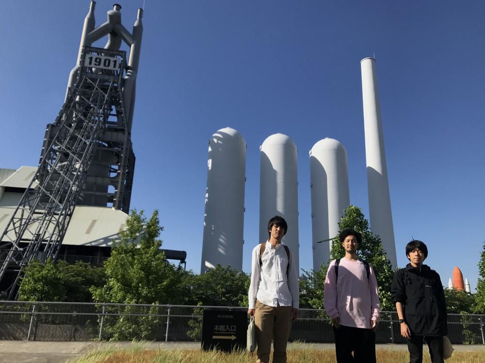 会場横にある東田第一高炉