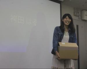 オリジナルキャラで女性の心をつかんだ袴田さん 桃谷順賞受賞