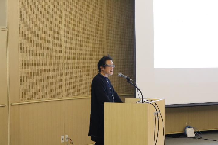最後に塚本先生の発表