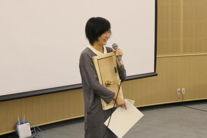 B4桐野江くんによる発表