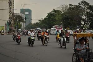 ベトナムの道路 これを
