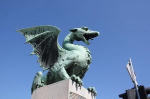 リュブリャナのシンボル、竜