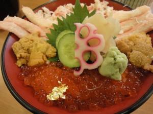 三種盛丼 ¥2000